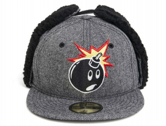 dd81fae8e13 THE HUNDREDS x NEW ERA「Adam Dog Ear」59Fifty Fitted Baseball Cap ...