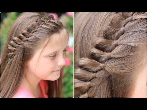 4-Strand French Braid Pinback   Cute Girls Hairstyles