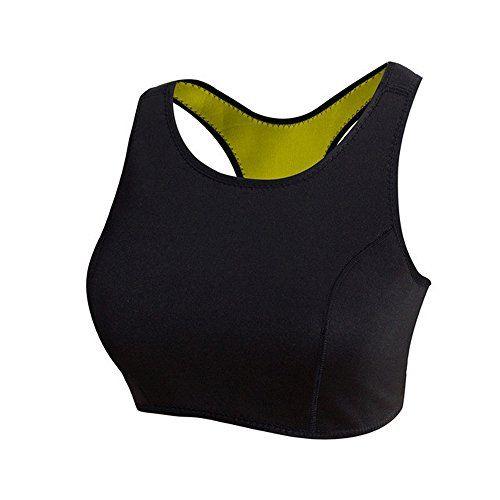 3cfafcea0ded4 Hot Slimming Neoprene Yoga Sport Bra Shaper Waist Trainer Cincher Corset  Belt     Details