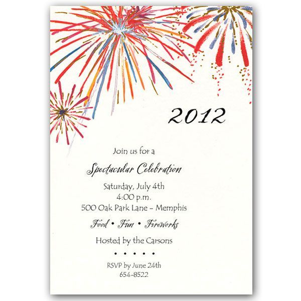 Fireworks Wedding Invitations We apologize this item is no