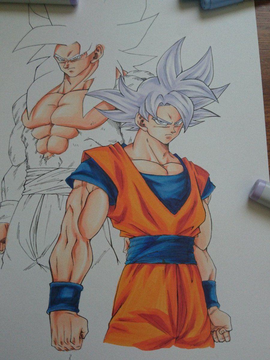 Dessin Son Gokū Kakarotto Migatte No Gokui Et Gokū Super