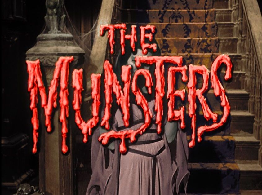 Title in color The munsters, Tv theme songs, Classic