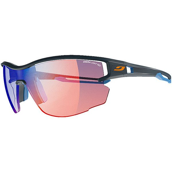 Julbo Aero Sunglasses - Dark Blue Blue - Sunglasses (620 BRL) ❤ liked a67f02acc665