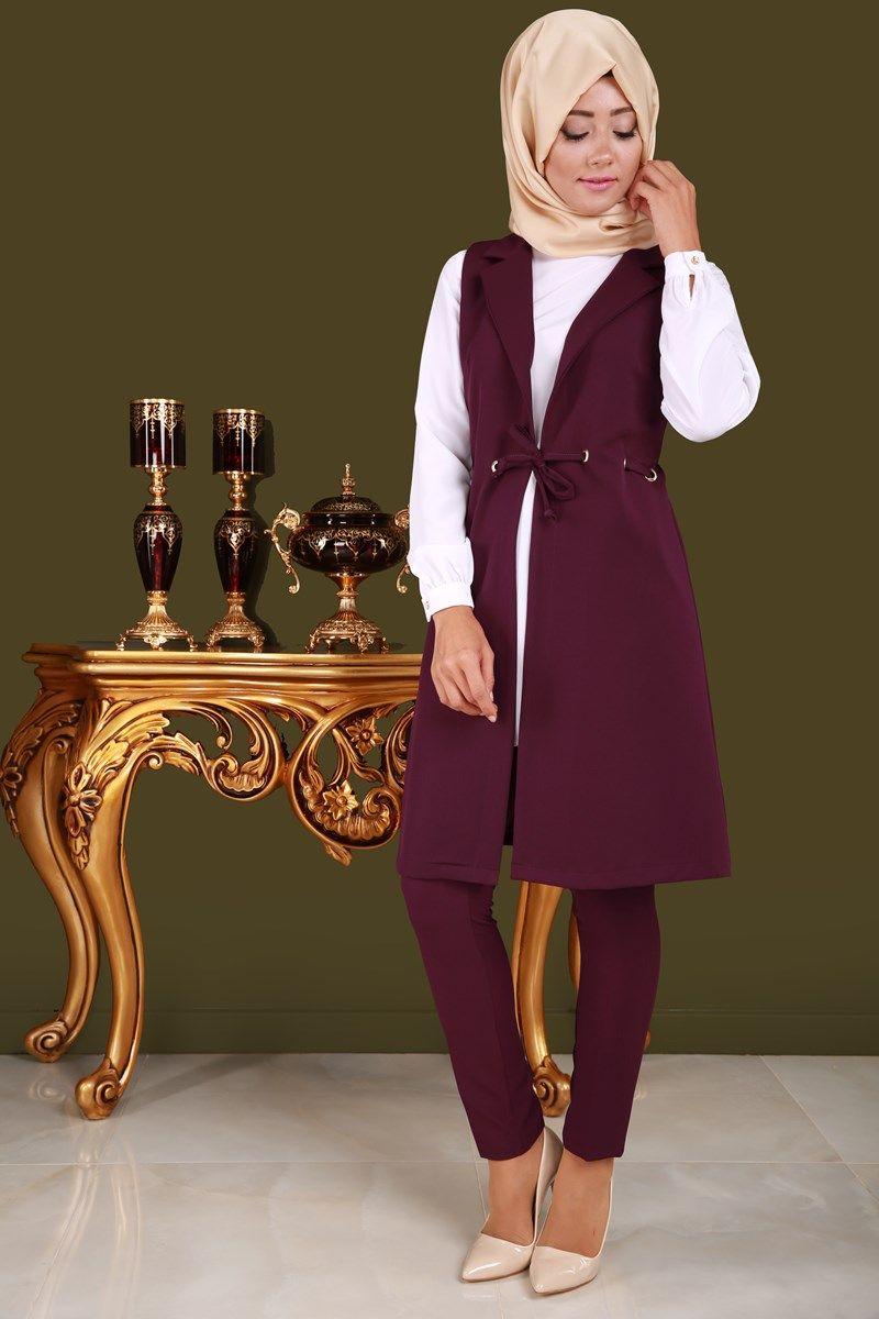 Indirdik Yelek Ve Pantolon 2 Li Takim Murdum Urun Kodu Pn8711 S 94 90 Tl Pantolon Elbiseler Yelek