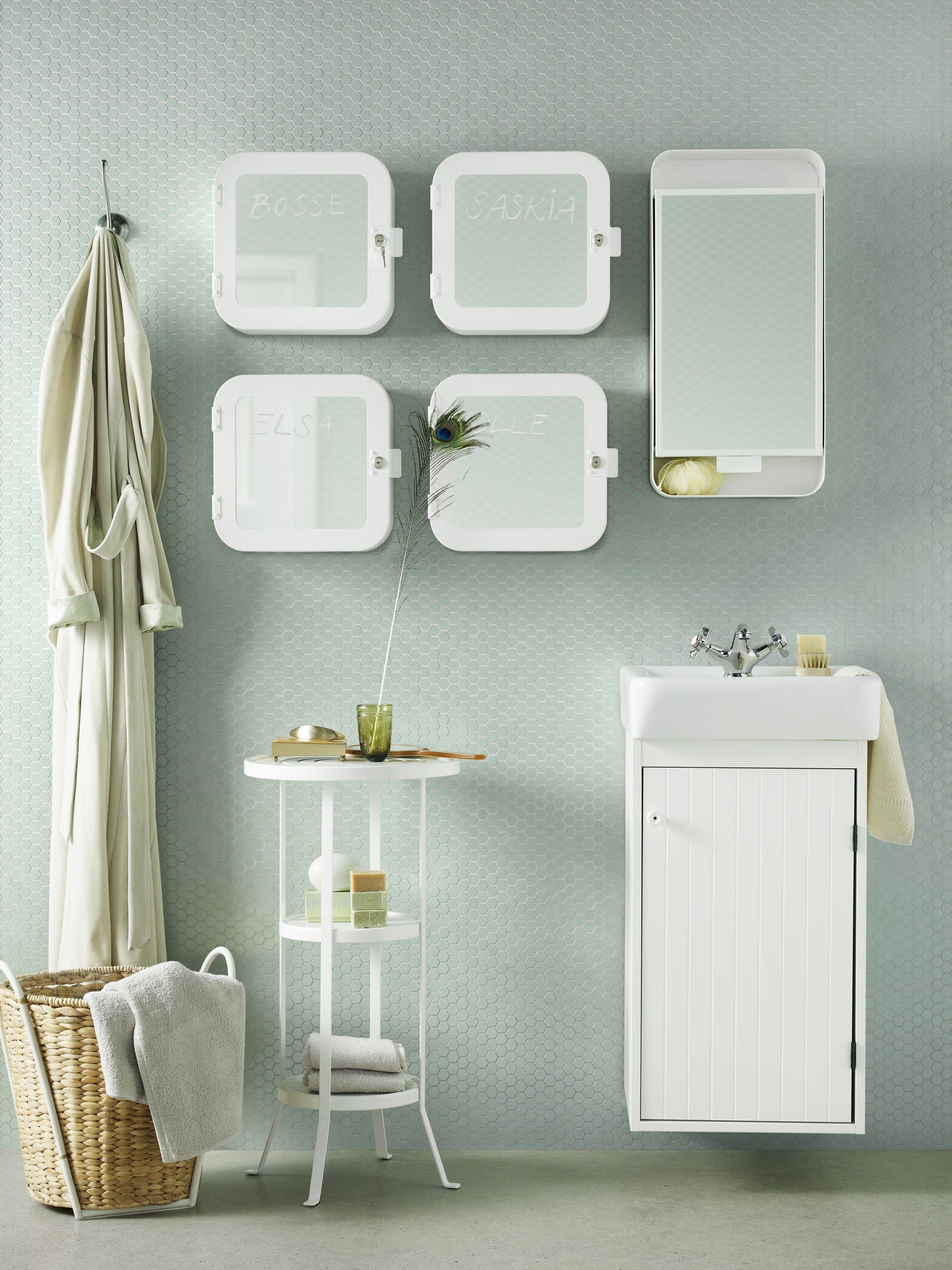 GUNNERN tafeltje | #IKEA #IKEAnl #inspiratie #badkamer #opruimen ...