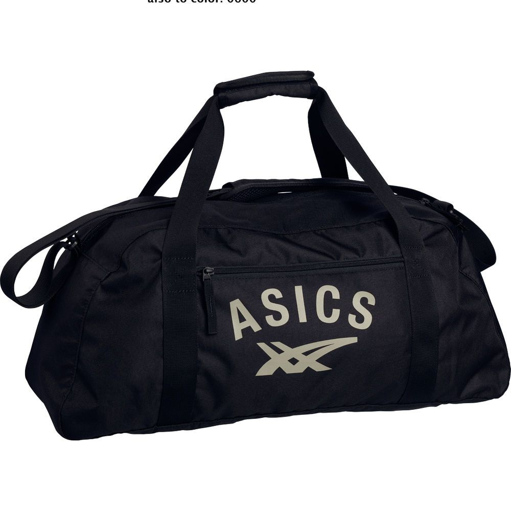 1b81fa9bd Asics Training Bag, Sporttasche, schwarz, Neu | Running | Asics, Gym ...