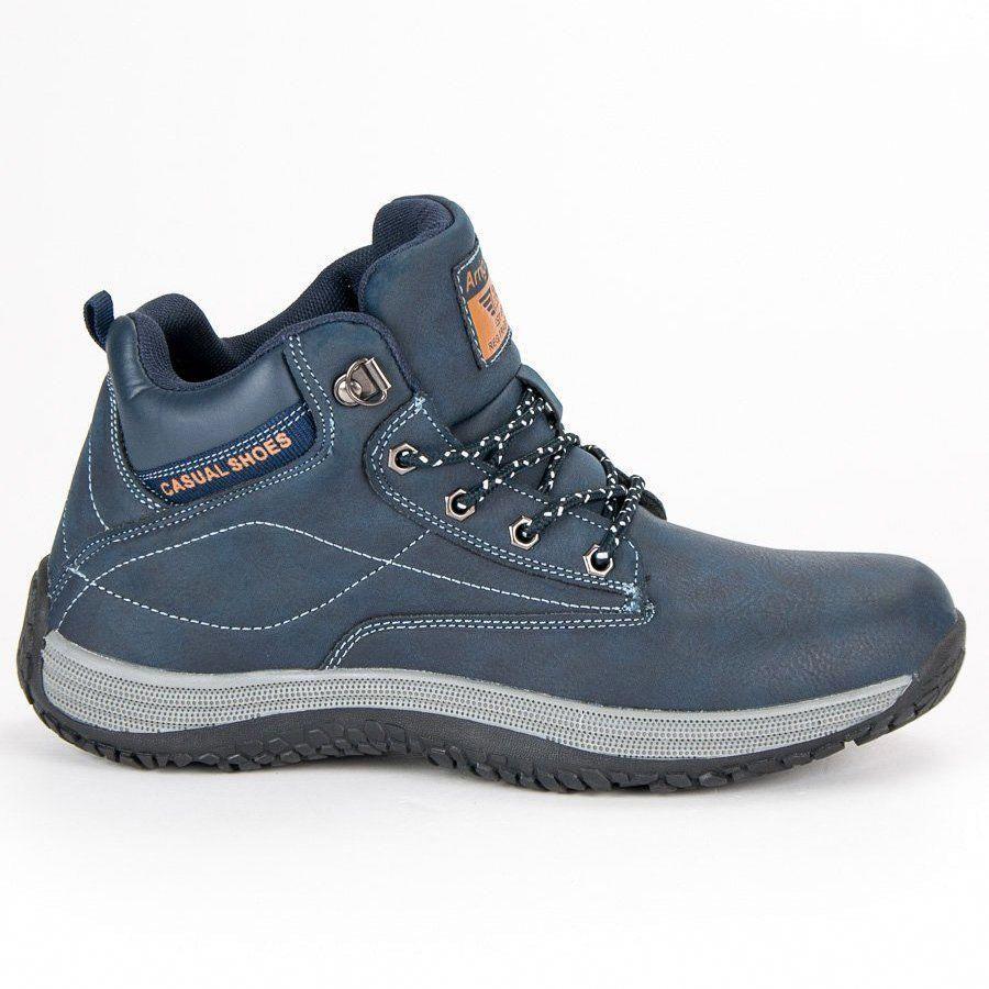 Trekkingowe Meskie Arrigobello Niebieskie Casualowe Obuwie Meskie Arrigo Bello Snowboots Boots Boots Online Winter Boots