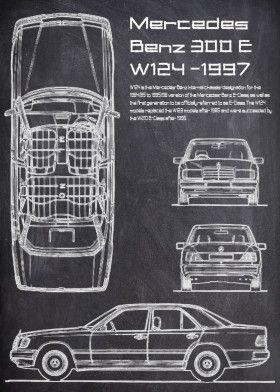MercedesBenz W124 300E | Displate thumbnail