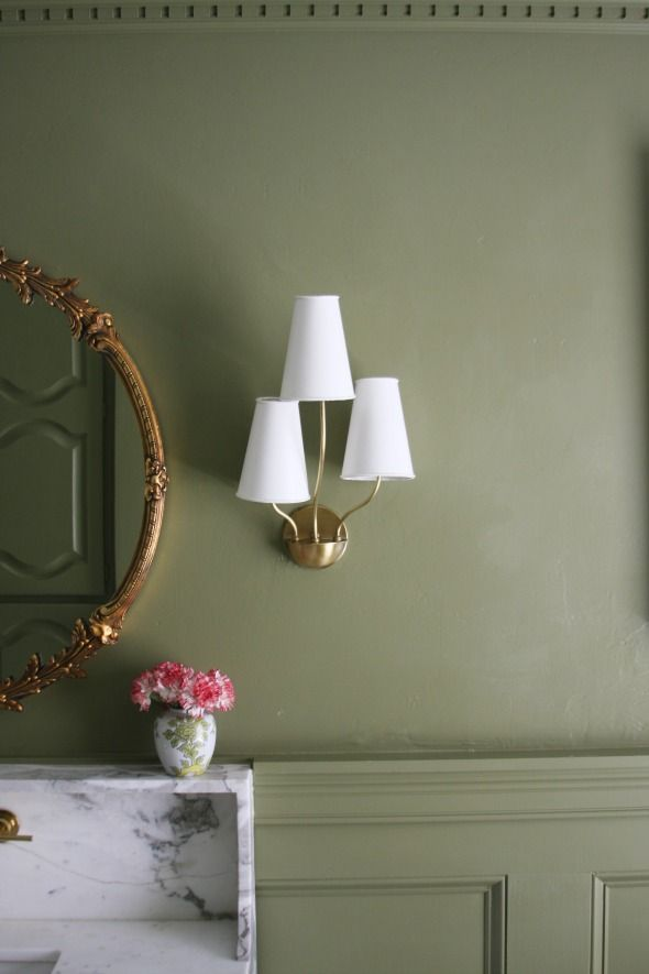 Olive Green Everything | Pinterest | Farrow ball, Wall colors and Room