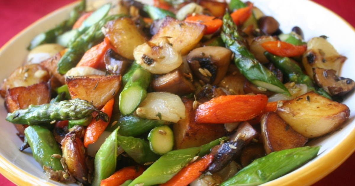 Verduras Salteadas Receta De Lliwgardaix Receta Verduras Salteadas Verduras Recetas Con Verduras