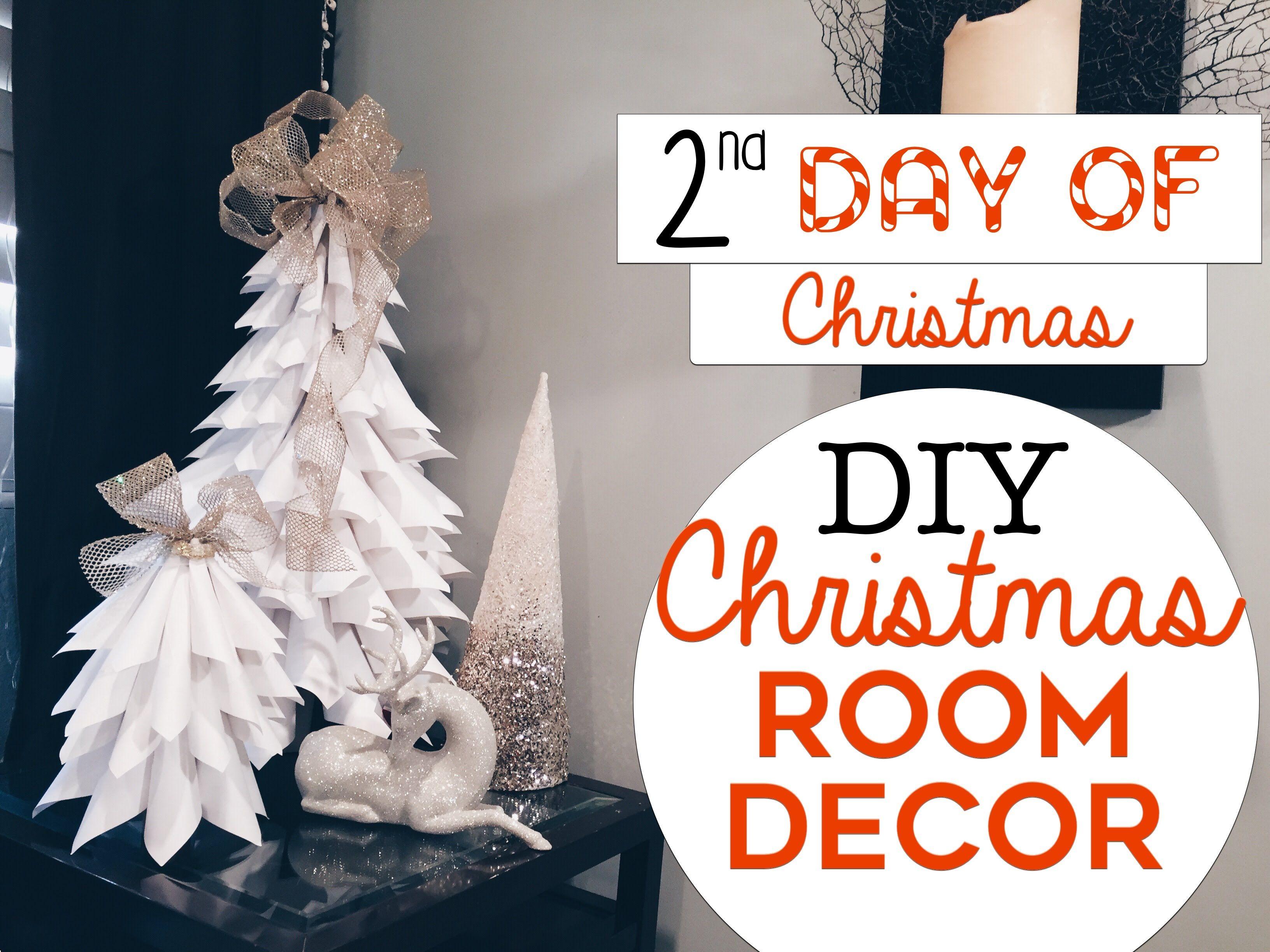 3 easy christmas room decor diys 2nd day of christmas diy christma