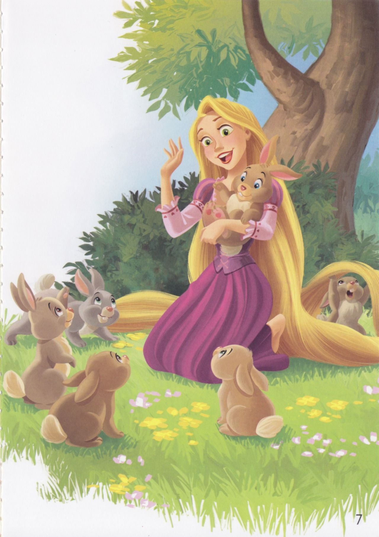 """Rapunzel Can"" Disney Reading Adventures Storybook"