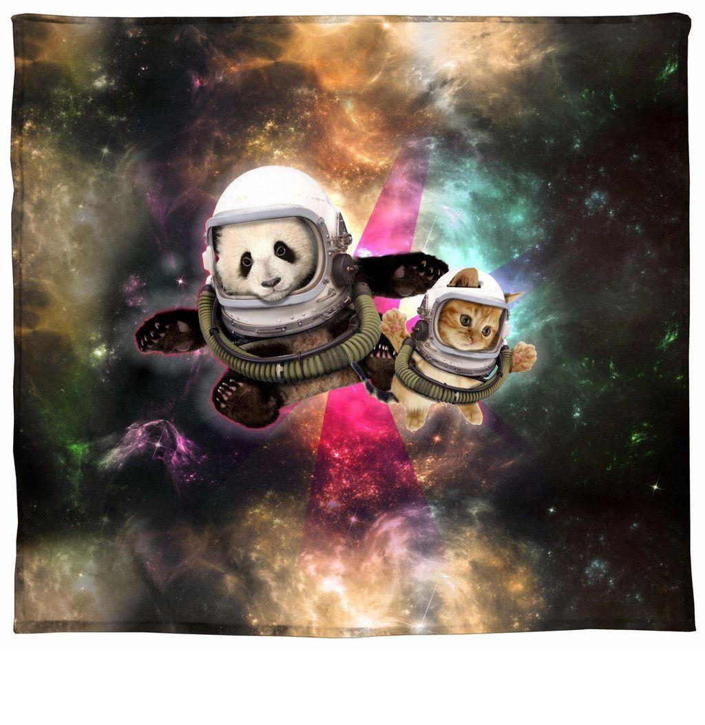Astronaut Pals Blanket