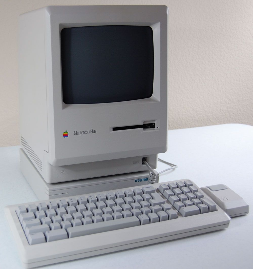 Vectronic S Macintosh Plus Apple Computer Apple Technology Computer