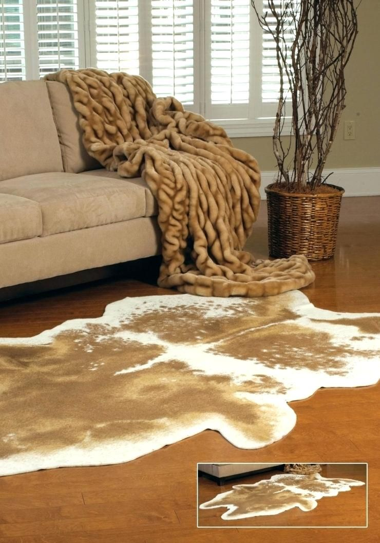 The Best Fake Cowhide Rug Pics Luxury For Home Decoration Fascinating Grand