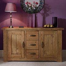 Loxley Pine Large Sideboard Dunelm £350 dining room