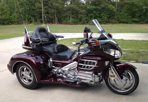 Image result for pics of 2017 honda goldwing trike