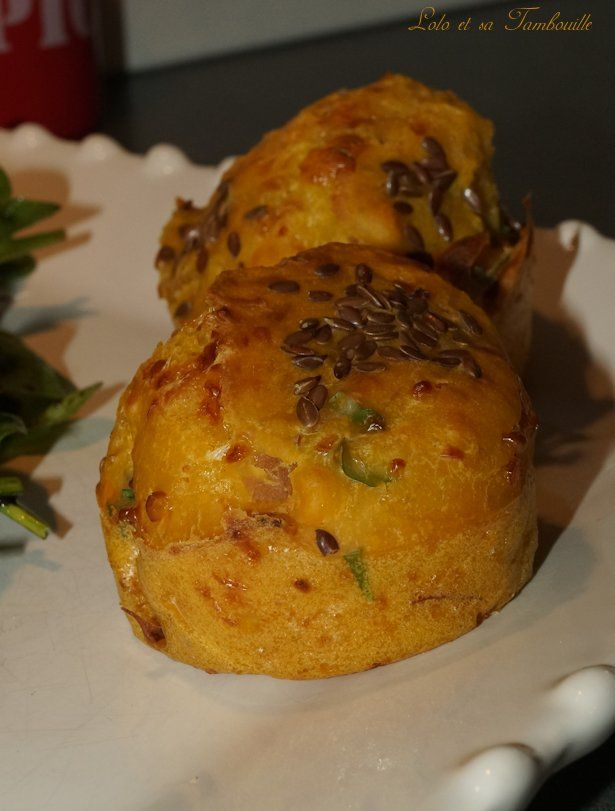 Muffins au potimarron et bacon (4)