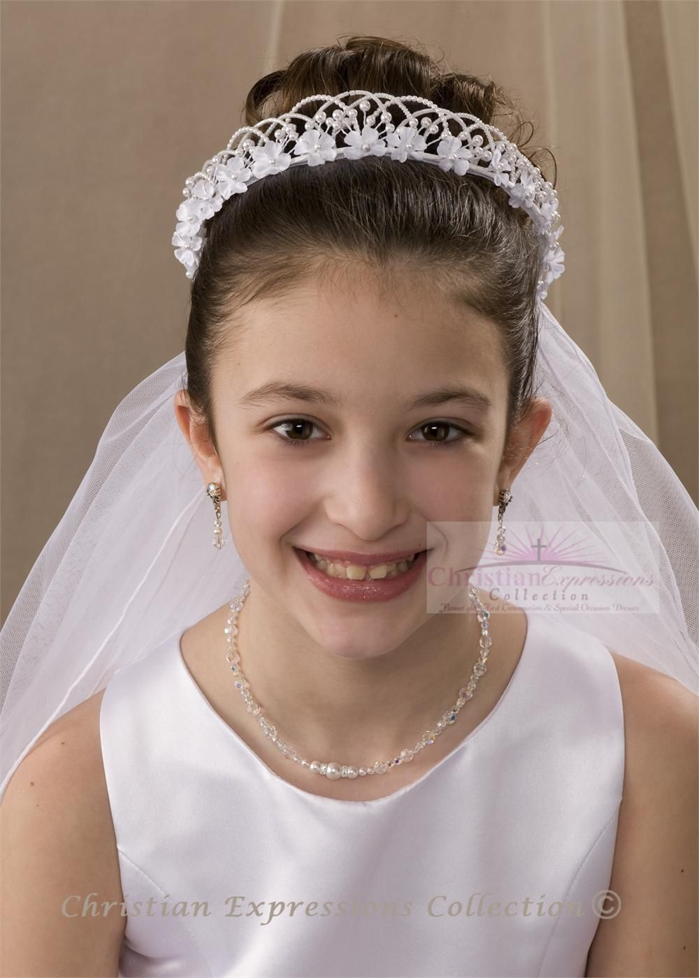 first communion hairstyle 7 | first communion | pinterest