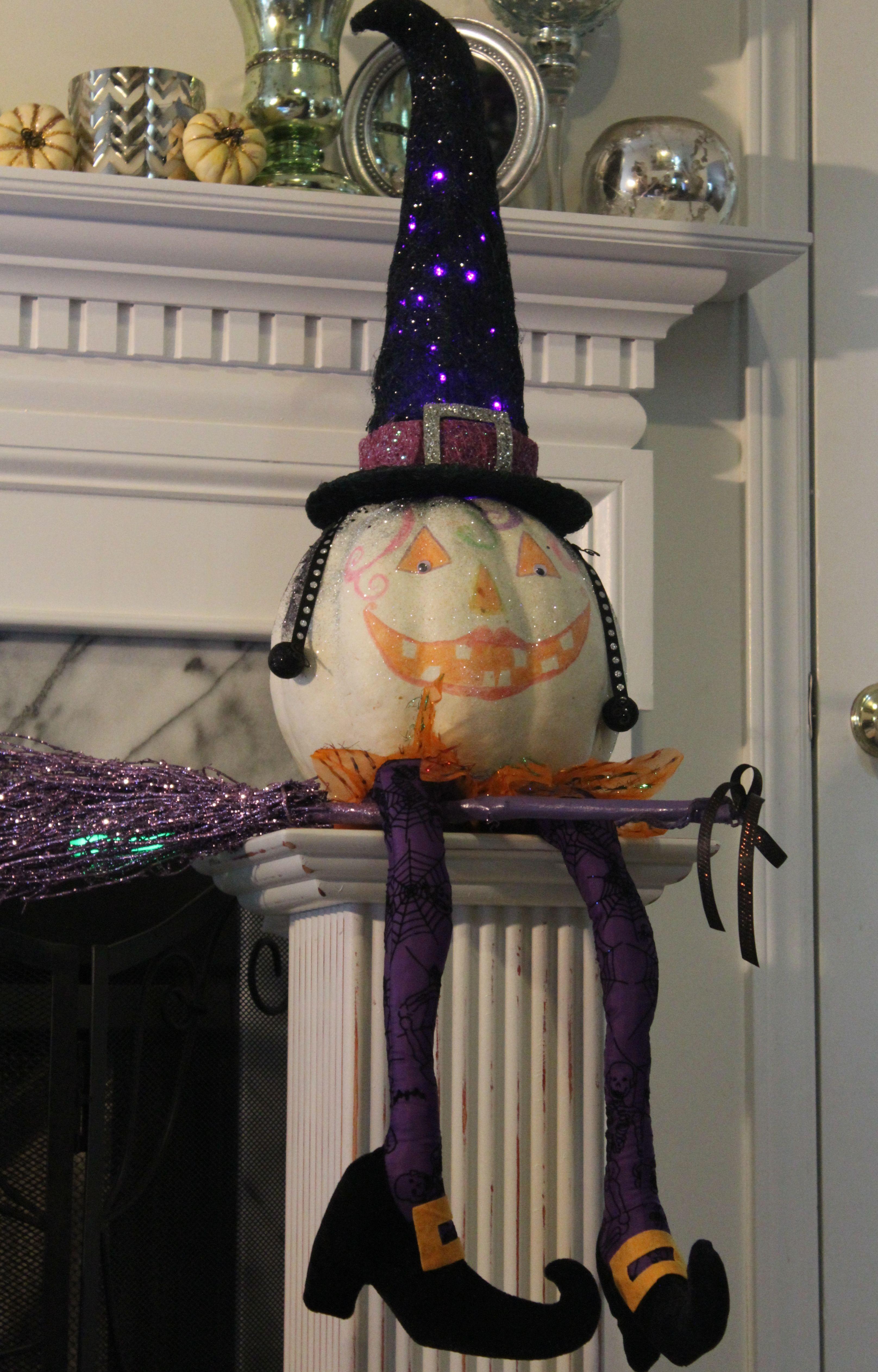 Pumpkin in costume! Decor, Snow globes, Home decor
