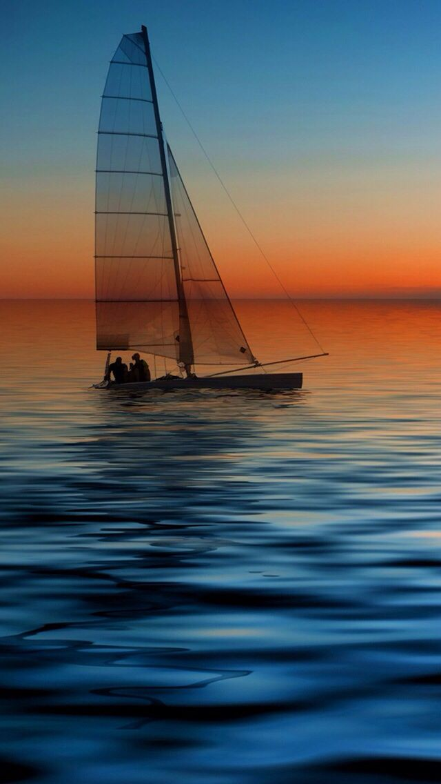 Hd Wallpaper With Images Sailboat Photography Boat Sailing