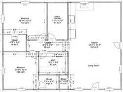 Pole Barn House Floor Plans 30 X 40 | Pole Barn Garages ...