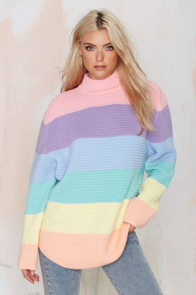 645ffb0a661 UNIF Front Oversized Sweater