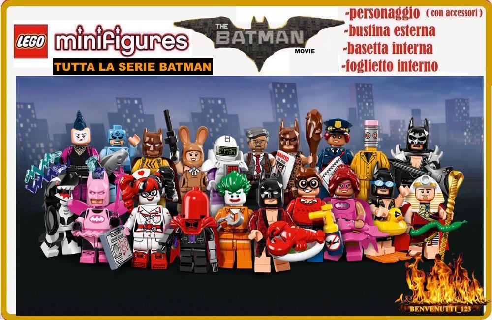 Lampada Lego Batman : Lego minifigures batman movie novita collezione lego