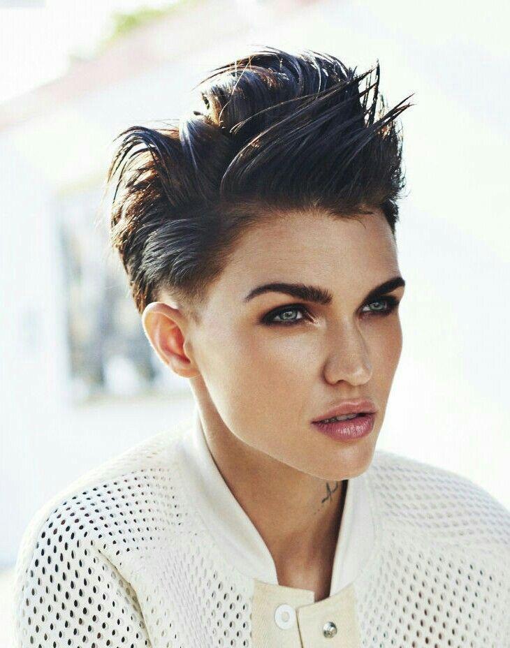 Lesbian short hair styles