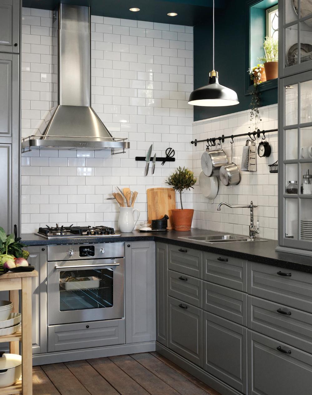 Seria Bodbyn Kitchen Remodel Kitchen Remodel Small Ikea Bodbyn Kitchen