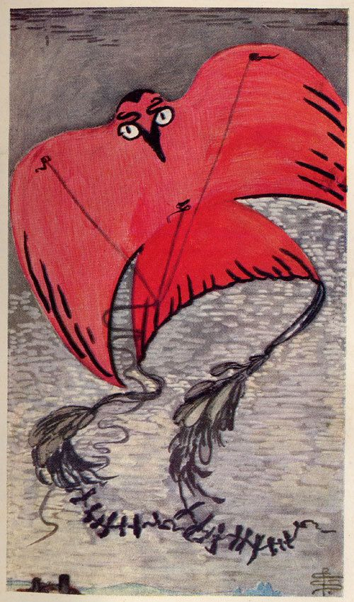 By Pamela Coleman Smith 1st Edition Illustration For Bram Stokers