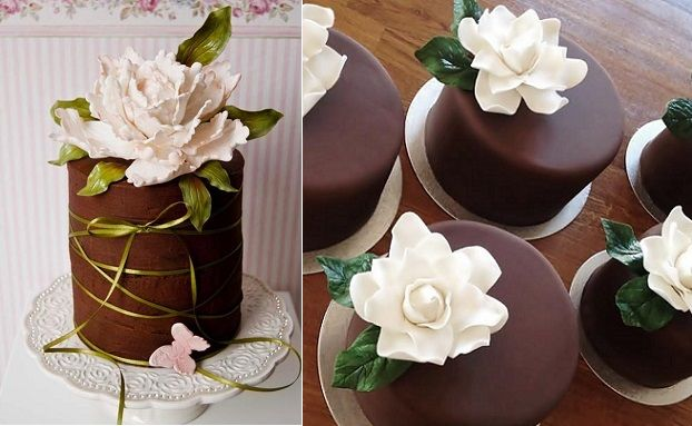Chocolate Cake Decorating Chic Chocolate Cake Decoration Cake