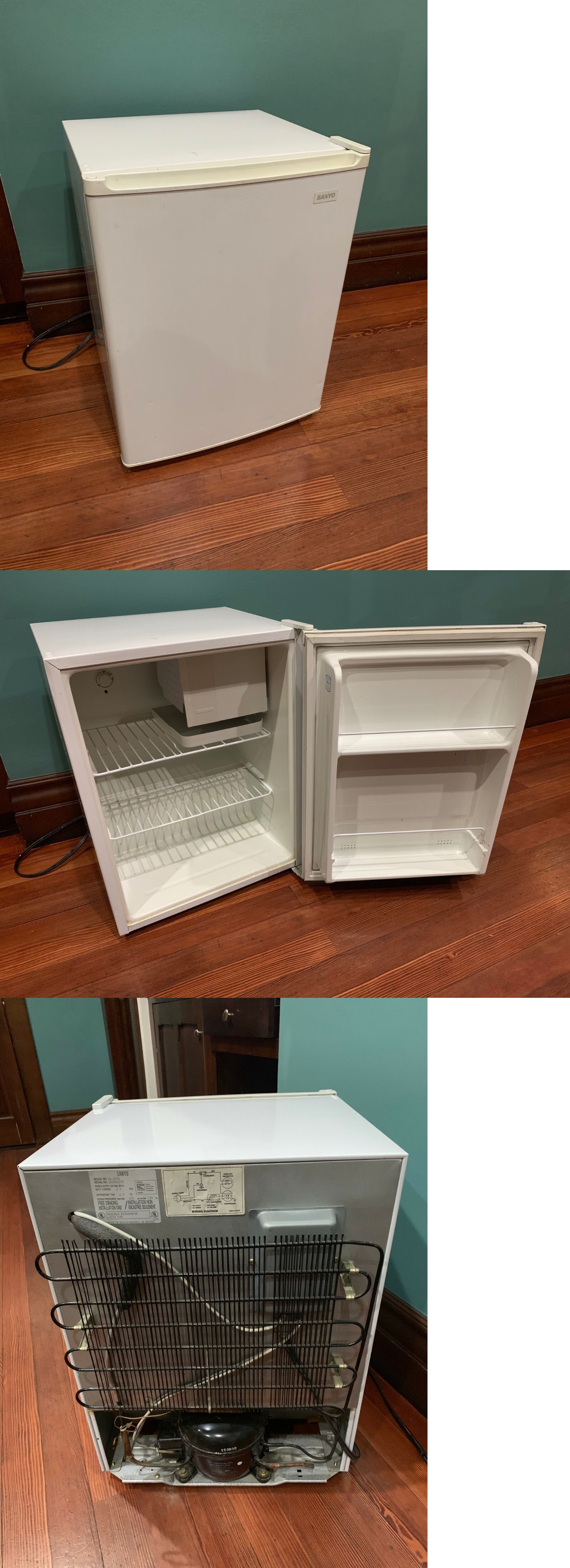 small resolution of mini fridges 71262 brand new sanyo sr 257w mini fridge buy it now only 45 on ebay fridges brand sanyo fridge