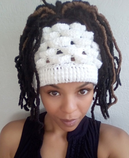 Unique Marshmallow Messy Bun Hat