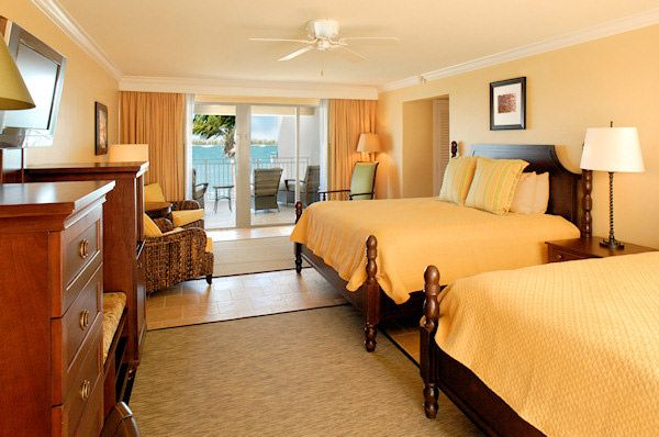 Bedroom Of The Harbour Junior Suite With Two King Beds Luxurious Room Pier House Bed