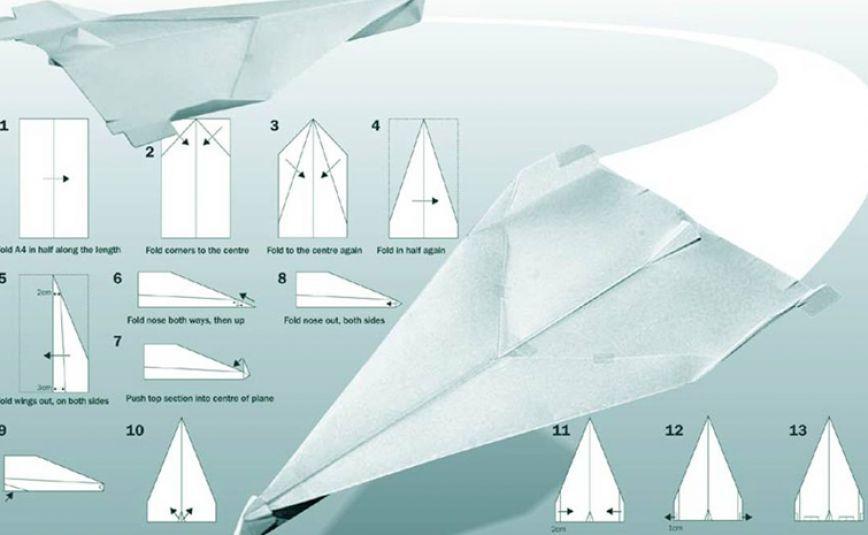 Aviones De Papel  Los Mejores Aviones De Papel Origami Para