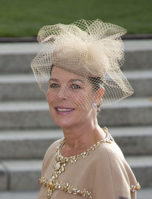 Los tocados de las invitadas a la boda real de Luxemburgo  b68aa1d52e5