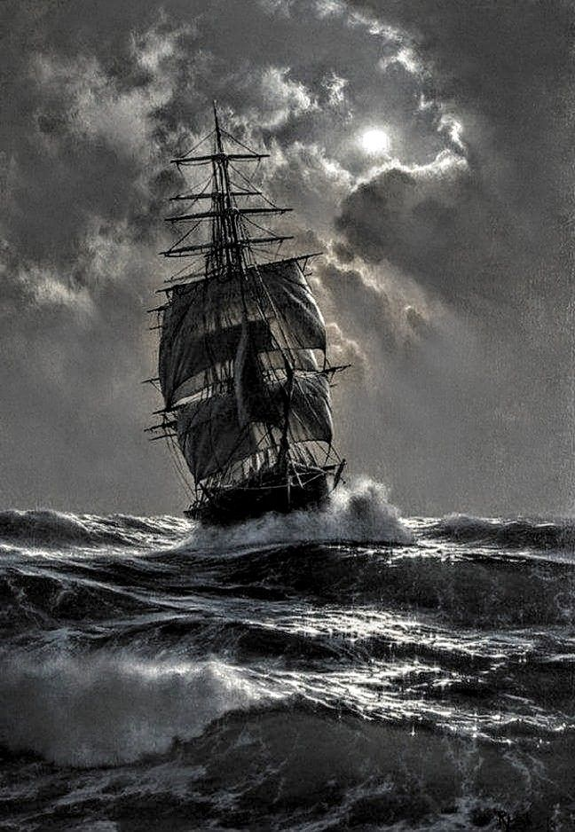 Clipper Ship Quot Vintage Boats Contemporary Art