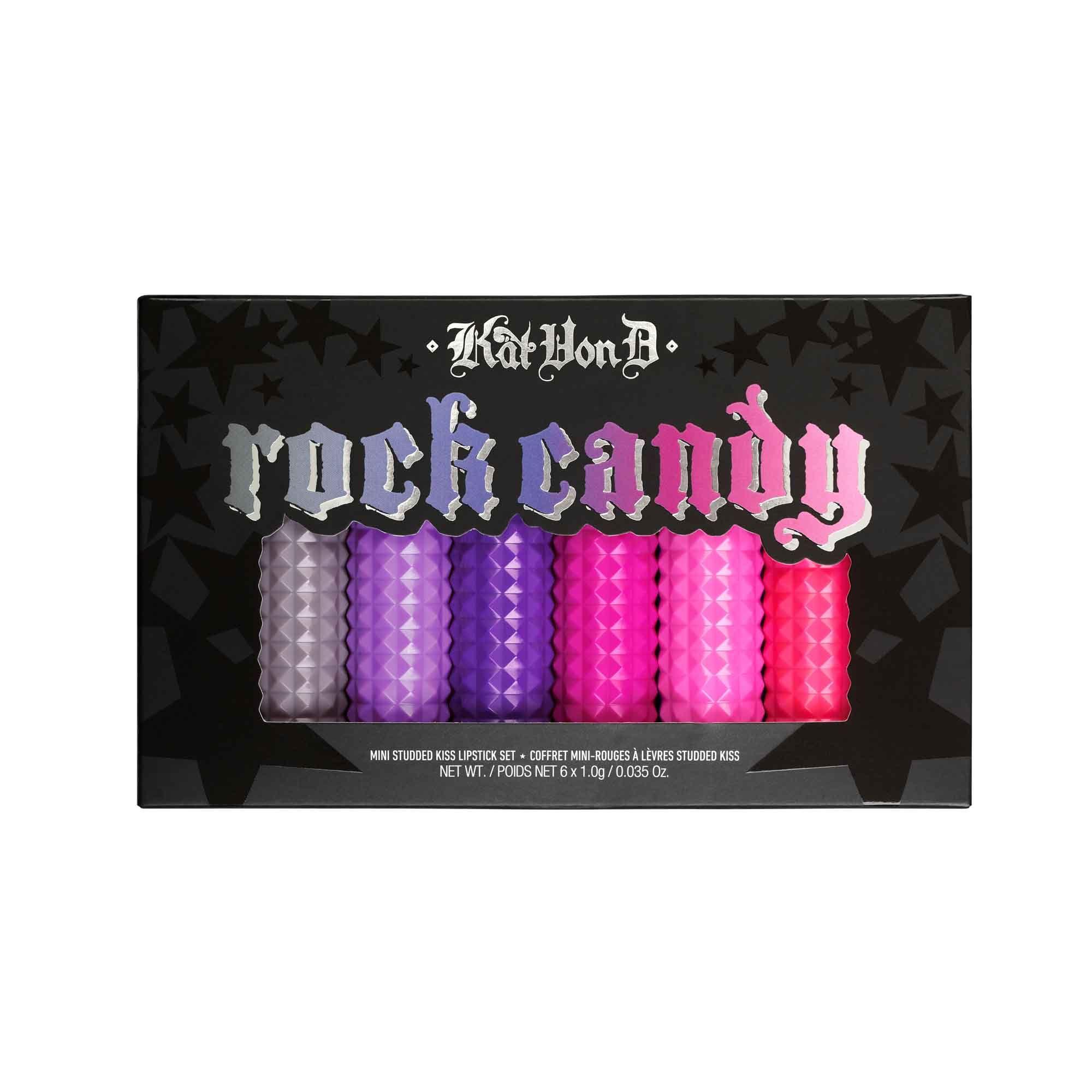 Kat Von D Beauty - Rock Candy Studded Kiss Lipstick Set | Birthday ...