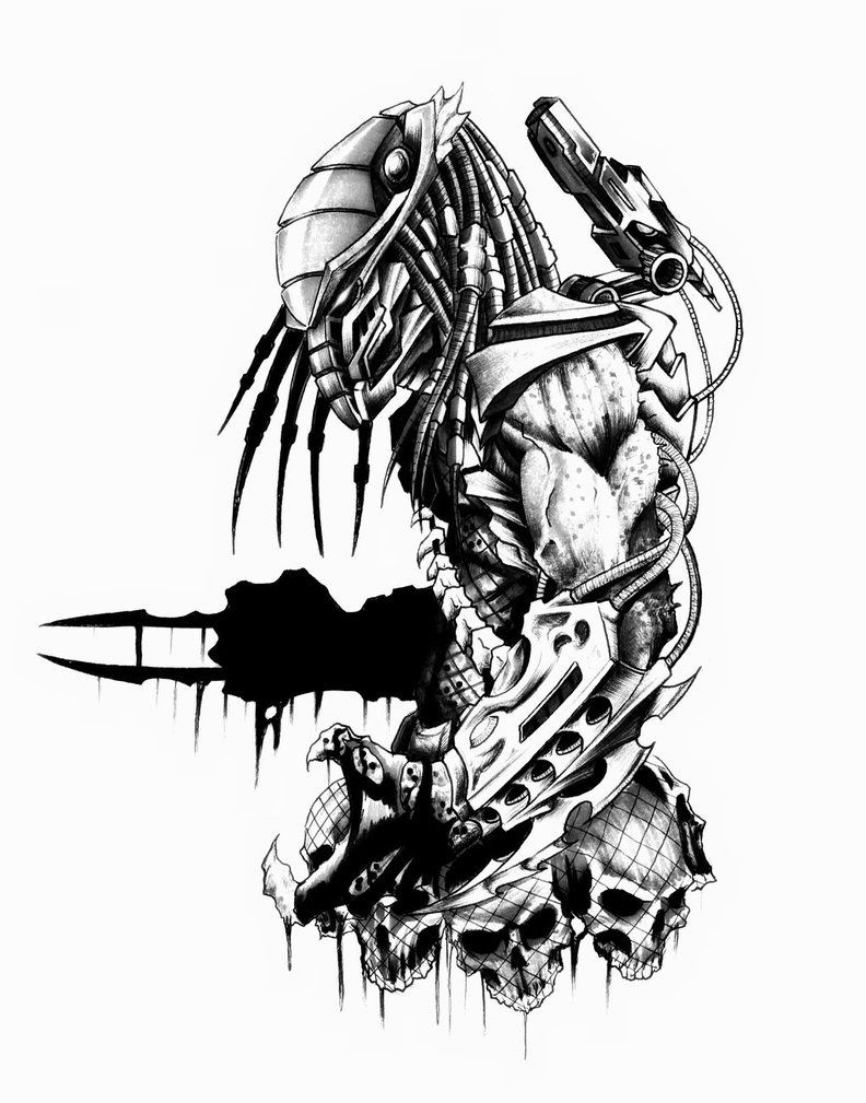 pin by isaiah garza on art stuff in 2018 pinterest head hunter Head-Fi AK100 head hunter by yacobucci predator art head hunter sci fi art drawings