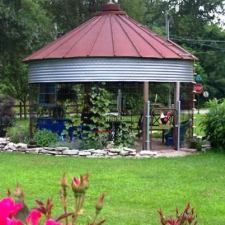 A Fantastical Flea Market Green house Kathy Gilbert lives in Louisiana, owns a business called Nature's Hideaway Nursery and Gardens. She loves junking and gardening and her business is where she e…