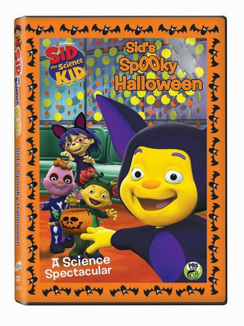 Pbs Kids Halloween Dvd.E1 Entertainment Sid The Science Kid Sid S Spooky Halloween Dvd