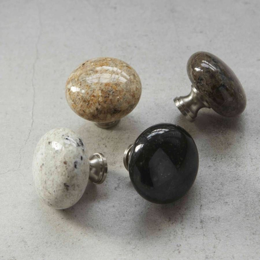 Kitchen drawer accessories uk - Granite Natural Stone Cupboard Door Knobs