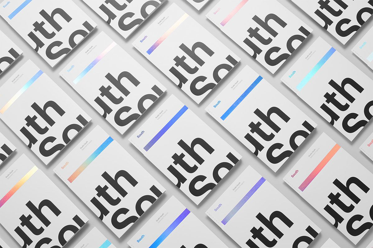 Studio South Branding | Inspiration Grid | Design Inspiration