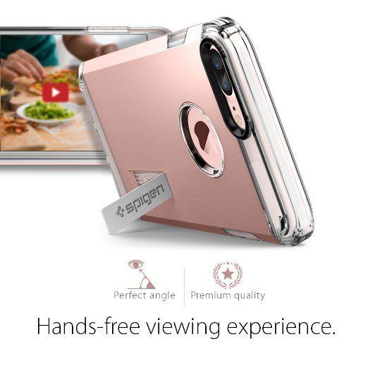 best loved c2a3d f9707 Amazon.com: iPhone 7 Plus Case, Spigen [Tough Armor] HEAVY DUTY ...