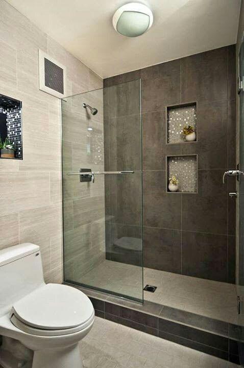 Pin Von Kathy Beshirs Auf Banos Y Mas Bad Einrichten Kleine Badezimmer Design Badezimmer
