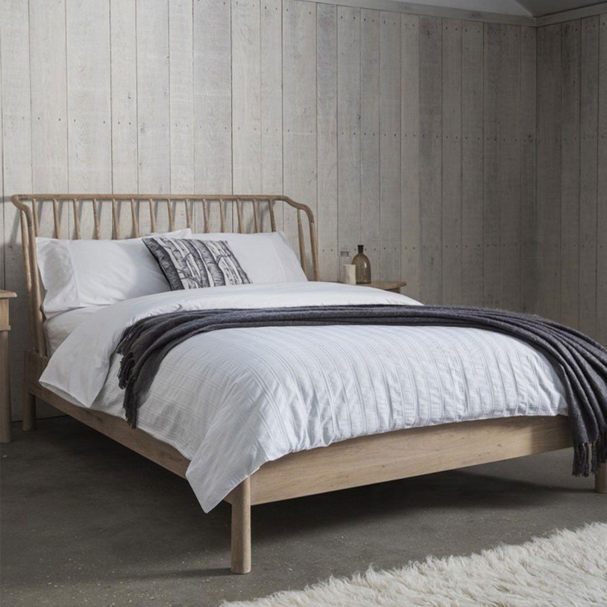HUTCH® Nordic Oak 5ft Bed Frame By Frank Hudson
