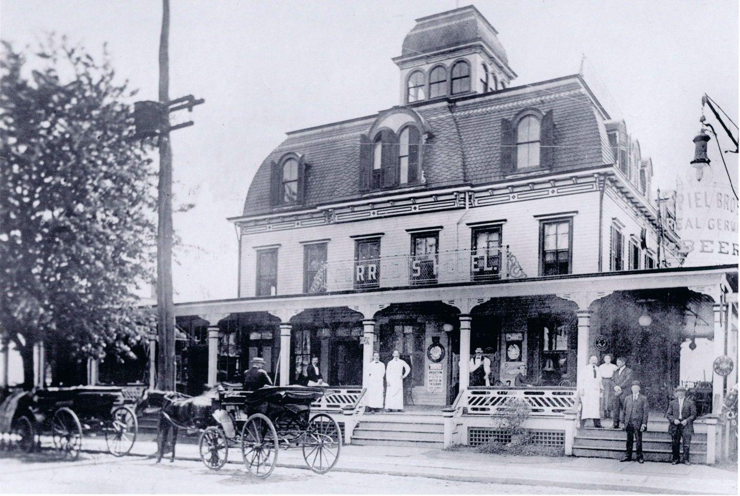 1908 Corrodi S Hotel E 16 St Lirr Gravesend Sheepshead Bay Brooklyn Photo Nyc Ebay