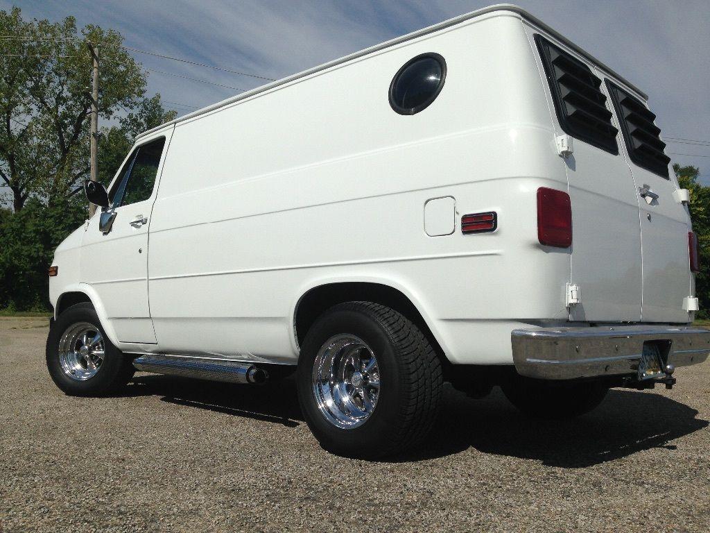 Chevrolet G20 Van Ebay Chevy Van Custom Vans Cool Vans