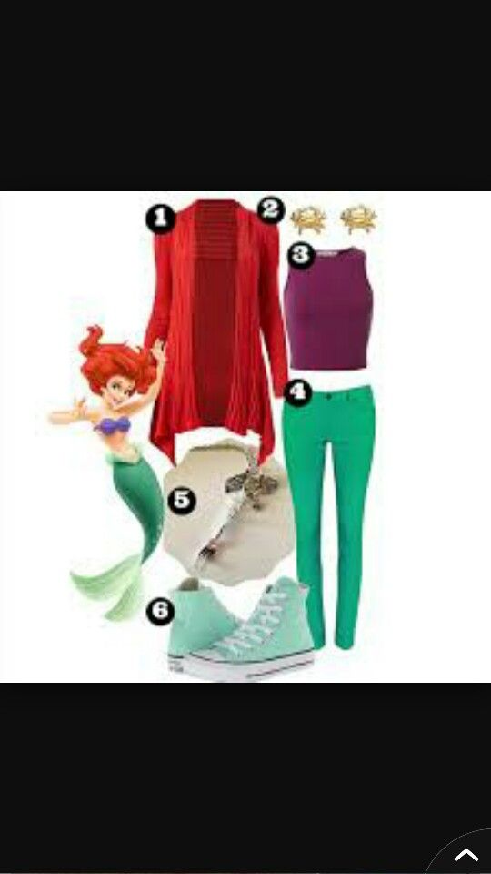 Casual Little Mermaid Outfit